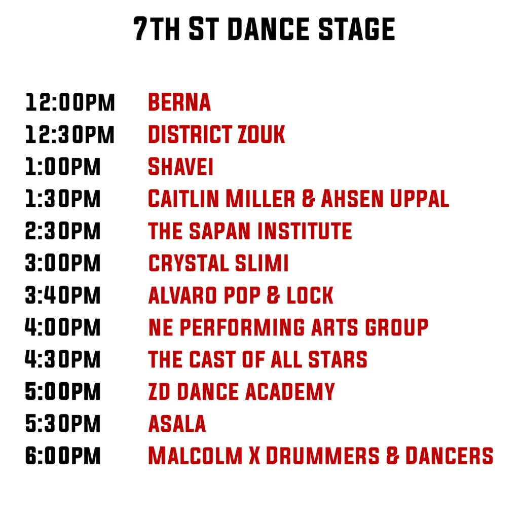7th Stage line up