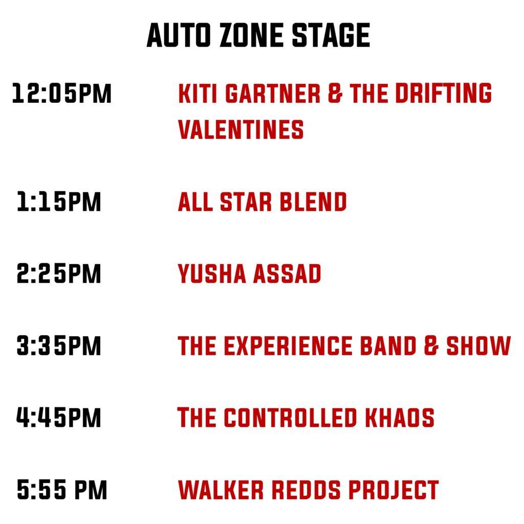 Auto Zone Stage
